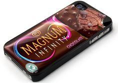 Magnum Infinity Chocolate iPhone 4/4s/5/5s/5c/6/6+/6s/6s+,Samsung Galaxy case
