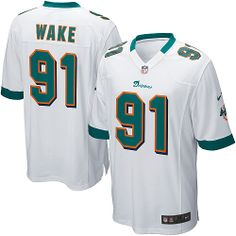Youth Nike Miami Dolphins Cameron Wake Game White Jersey (8-20) , for sale  $19.77 - www.vod158.com