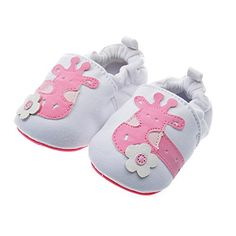 cool PAMBO Baby Slip-On Shoes for Infants, Newborns and Toddlers-Cute Soft Soled Walking Shoes for Home/Outdoors-Breathable (Size 4, White)