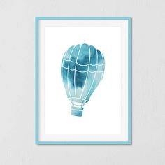 Nursery Wall Art, Air balloon, Nursery Decor, Nursery Art, Nursery Prints, Digital Print, Printable Poster
