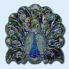 Peacock Beads Art