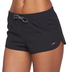 Women's Speedo Solid Cover-Up Swim Shorts  Thank the Lord for these every time I swim #Modesty # LessIsMore