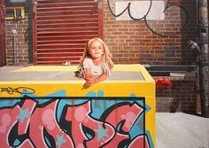 Kevin Peterson Paints Innocence in a Sometimes Difficult World