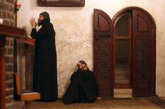 The Coptic Church is the West's last link to an early form of Christianity, and to a tradition of eremitical life that has all but disappeared from the m. Orthodox Christianity, Vintage Pictures, Ancient Art, Priest, Egyptian, Catholic, Religion, Cairo Egypt, Hammocks