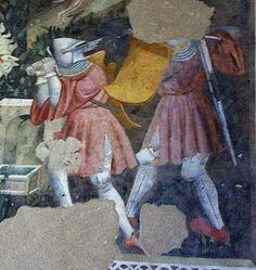 """Spoleto, Rocca di Albornoz, """"Camera Pinta"""" 1390-1410"""