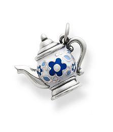 Enamel Teapot Charm, James Avery, $89