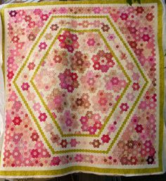 Eagles' Wings Quilts: Charlene's Hexagons
