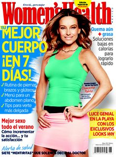 ¡Dominika Paleta en Women's Health junio!