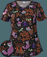 snow white scrub top snow white scrubs snow white scrub tops pinterest tops products and scrubs - Halloween Scrubs Uniforms