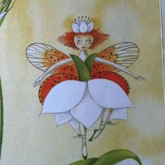 "Flower People Illustration by: Fiona Moodie from ""Fynbos Fairies. People Illustration, Beautiful Creatures, Bud, Fairies, Fairy Tales, Illustrator, African, Nature, Flowers"