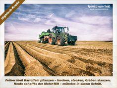 Kunst vom Feld: Hightech-Knolle – www.kunstvomfeld.de