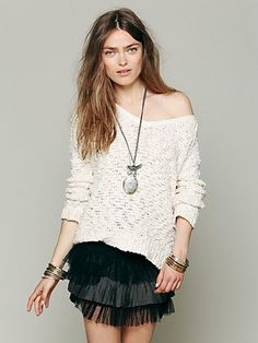 Free People FP ONE Ruffle Skirt