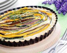 Quiche rayée aux légumes brûle-graisse Croq'Kilos : http://www.fourchette-et-bikini.fr/recettes/recettes-minceur/quiche-rayee-aux-legumes-brule-graisse-croqkilos.html
