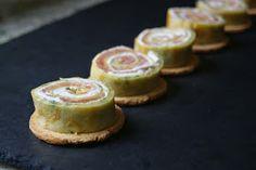 Anna recetas fáciles: Rollitos de crepe de salmón y queso