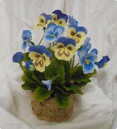 Флористика искусственная Лепка Разные цветы из тайской полимерной глины   Пластика фото 9