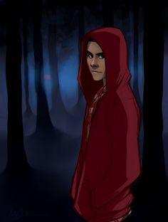 teen wolf: little red riding hood by kreugan.deviantart.com on @deviantART #teen #wolf #stiles