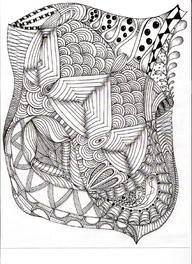 Zen Tangle Style Patterns & Designs..... Zen Lines ............†