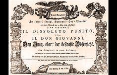 "Mozart's Masterpiece: Celebrating ""Don Giovanni"" on its birthday ..."