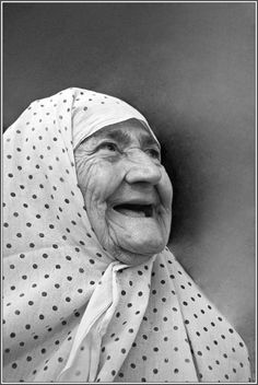 The old woman with cheerful...: Photo by Photographer Mehmet Akin - photo.net