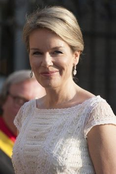 Queen Mathilde visited the Val-Dieu Abbey