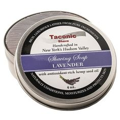 Taconic Shave Barbershop Quality Lavender Shaving Soap with AntioxidantRich Hemp Seed Oil >>> Details can be found by clicking on the image.