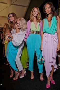 tagged as: dvf, ss 2013, spring, summer, 2013, female, model, models, backstage, new, york, fashion, week, london, paris, milan, joan smalls, joan, smalls, jac, monika, hanne gabby odiele,