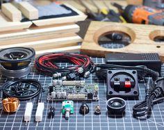 DIY Powered Speaker Build Plans  Fawn Speaker  Salvage Audio