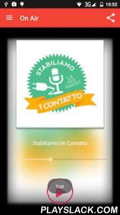 """Stabiliamo Un Contatto  Android App - playslack.com ,  La App Ufficiale…per """"Stabilire un contatto"""" con MaRcO CoRoNa!Dj, Presentatore, Animatore, Personaggio dello spettacolo. The Official App for ... """"Establish a contact"""" with Marco Corona!Dj, Emcee, Entertainers, Characters of the show."""