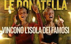 Le Donatella hanno vinto l'Isola dei Famosi 10 (Video) #isola #isoladeifamosi