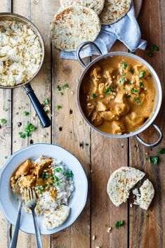Butter Chicken - opskrift på indisk Butter Chicken - nem og let Yummy Chicken Recipes, Baby Food Recipes, Meat Recipes, Indian Food Recipes, Dinner Recipes, Healthy Recipes, Chicken Meals, Easy Asian Recipes, Pot Pasta