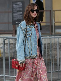 ac404e3a8cd The Best Celebrity Bag Looks of Milan Fashion Week Spring 2017 Alessandra  Ambrosio