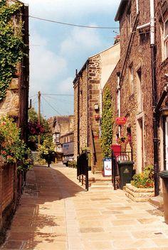 George St. Paved, Addingham, West Yorkshire.