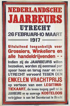 Nederlandsche Jaarbeurs Utrecht 1917