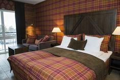 Hotel room at Vestlia Resort, Geilo, Norway Norway, Bed, Room, Furniture, Home Decor, Bedroom, Decoration Home, Room Decor, Rooms