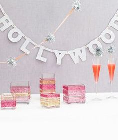 Whether you're hosting an Oscar bash or simply looking for a unique party theme, these fun and festive ideas are perfect for celebrating just about anything, anytime.