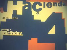 Factory Records Fac51 The Hacienda 4th birthday vintage 1986 Large Poster Joy division Tony Wilson Peter Saville by MemorabiliaComplete on Etsy https://www.etsy.com/uk/listing/277913860/factory-records-fac51-the-hacienda-4th