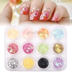 12 Colors Pack Cute 3D Nail Arts Manicure Beauty Stickers  $ 5.93  Item #:    S-CA-2141
