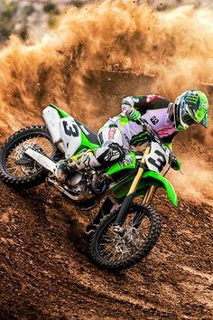New Kawasaki 2019 & Dirt bike riders and motocross The post 2019 appeared first on Trendy. Dirt Bike Riding Gear, Dirt Bike Racing, Dirt Bike Girl, Motorcycle Bike, Dirt Biking, Kawasaki Dirt Bikes, Ktm Dirt Bikes, Cool Dirt Bikes, Motocross Love