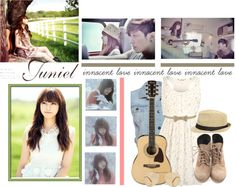 """""""Juniel"""" by christieetaing ❤ liked on Polyvore"""
