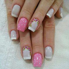 Nail Arts, Nails, Manicures, Beauty, Beautiful, Inspired, Style, Nail Design, Nail Jewels