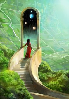 """""""Gateworld"""" from """"Imagined Realms Book 2 : Earth and Sky"""" on kickstarter :)"""