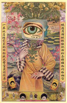 Wallpaper - Art World Photo Wall Collage, Collage Art, Arte Indie, Arte Sketchbook, Funky Art, Hippie Art, Poster Prints, Art Prints, Poster Wall