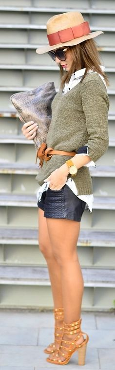 Seems like it would be too hot, but a very well put together look, non the less.