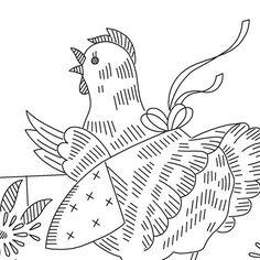 Vintage hen! Put a hen on it!