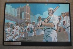 """The First Nine"" - Great American Ballpark, Cincinnati"