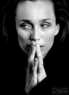 Kristin Scott Thomas, as Sybilla,  Dowager Baroness Culter