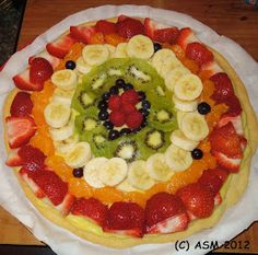 Art By ASM, It's In There....: Scrumptious Fruit Tart