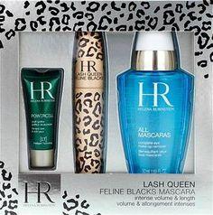 VypnutoVynechat z LightBoxu Luxusní dámská dárková sada Helena RubinsteinLash Queen Mascara Feline Blacks Gift Set obsahuje řasenku v černé barvě, oční krém a odličovač. Set výrobků zaměřený na péči o oči a jejich okolí je vhodný pro všechny typy pleti. Vybírejte pro své líčení...