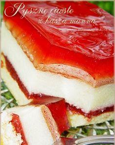 Polish Desserts, Polish Recipes, Cookie Desserts, Sweet Desserts, Sweet Recipes, Cake Recipes, Dessert Recipes, My Favorite Food, Favorite Recipes