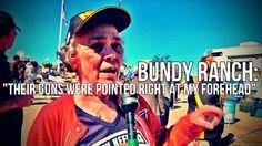 Bundy Ranch: Granny Faces Down Federal Guns
